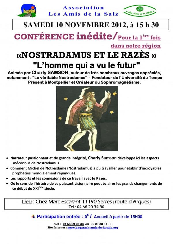 Nostradamus -  sam 10 nov 2012 E.jpg
